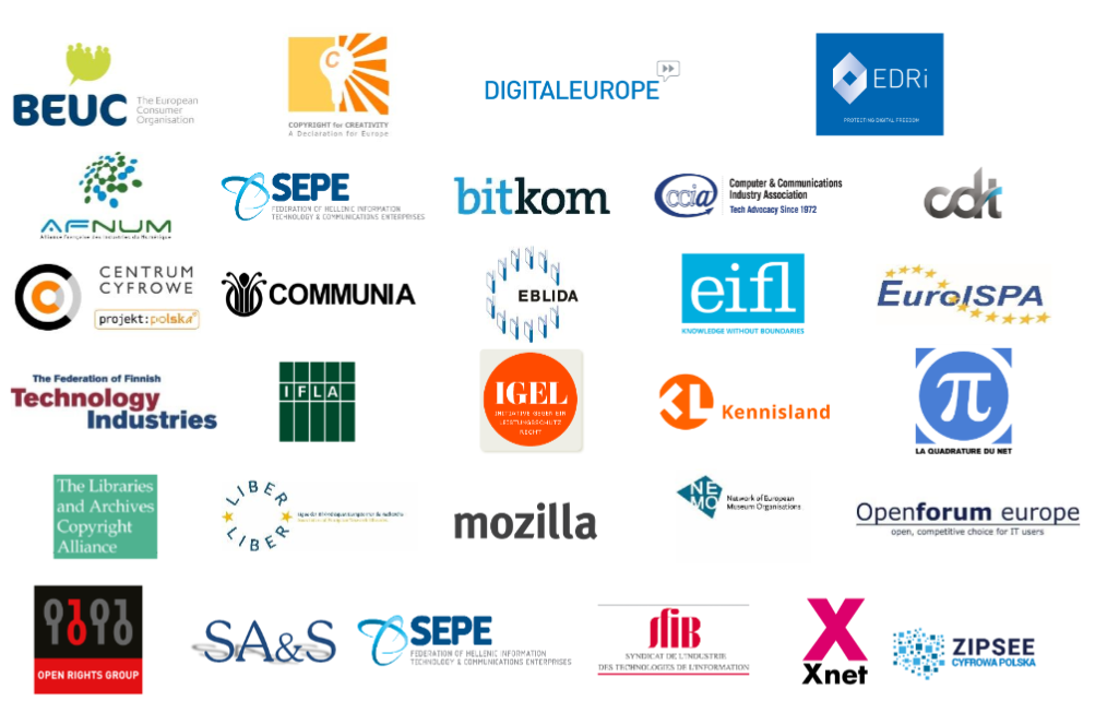 A Digital Single Market for Creativity and Innovation: Reforming Copyright Law without curtailing Internet Freedoms - Open Letter