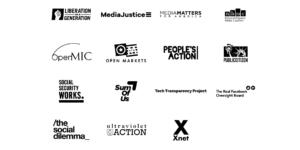 Carta STOP con el perfilado algorítmico #BanSurveillanceAdvertising – #FakeYou [EN]