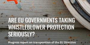 Contibuimos al informe de WIN sobre el estado de transposición de la Directiva en defensa de los Alertadores #whistleblowers [EN]