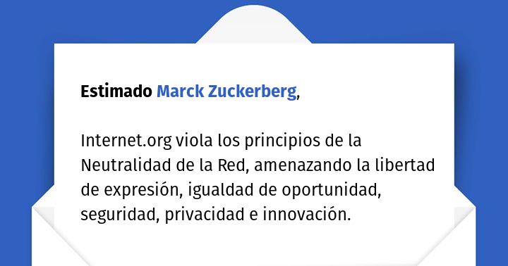 65 grupos de 31 paises hemos escrito carta abierta a M.Zuckerberg a proposito de @internet_org