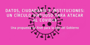 Data, citizenship and institutions: A virtuous circle to take on Covid-19