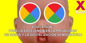 Proposta per a l'excel·lència en la privacitat de dades i la digitalització democràtica dels centres educatius