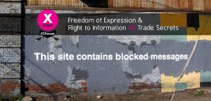 FCForum 2015 Outcomes on Freedom of Expression & Right to Information VS Trade Secrets