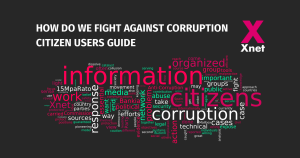 How to fight against corruption: Citizen Users Guide
