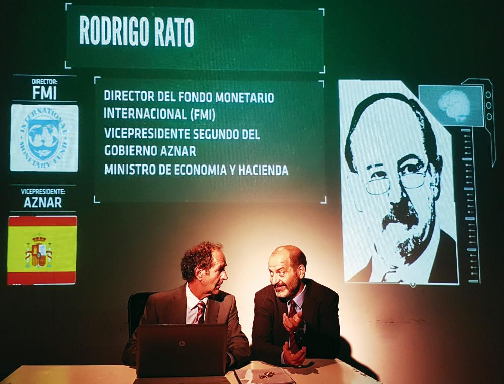Hazte Banquero, Rodrigo Rato