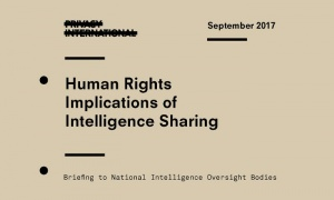 International campaign for greater transparency around secretive intelligence sharing activities between governments