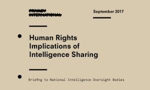 (Es) Carta abierta para una mayor transparencia en la supervisión de las actividades secretas de intercambio de inteligencia entre gobiernos