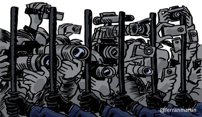 Legislaciones que coartan la libertad de expresión de acción y organización en el Estado español