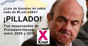 Luis de Guindos en #Luxleaks
