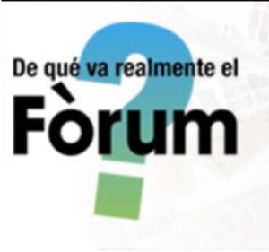 De qué va realemente el Fórum?
