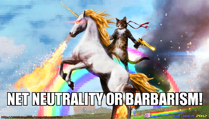 Defend net neutrality, save the internet!