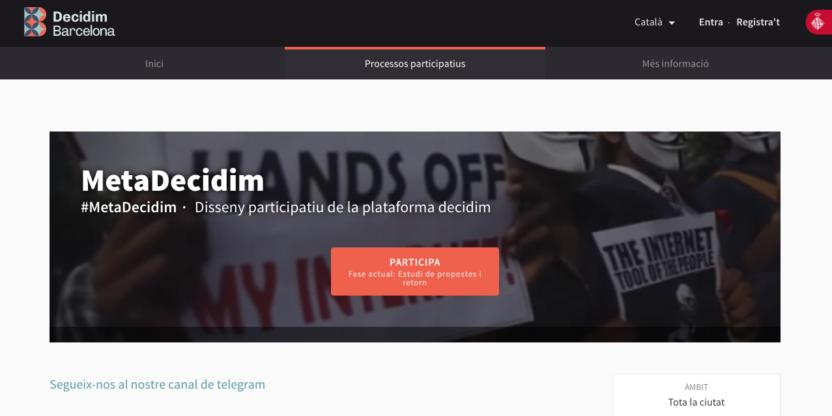 """RECOMENDACIONES ENTORNO A LAS VULNERABILIDADES SOCIO-TÉCNICAS DE LA HERRAMIENTA """"DECIDIM.BARCELONA"""""""