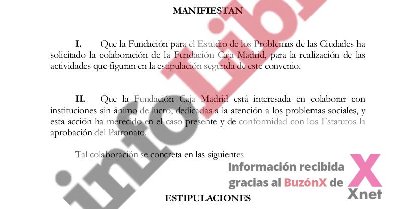 Documentos Saqueo Caja Madrid
