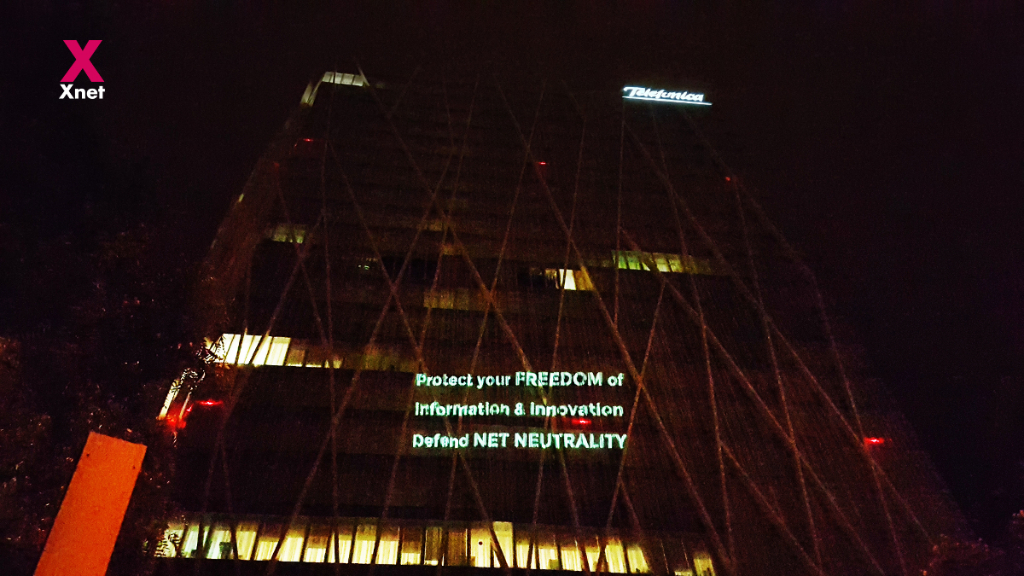 Protect your freedom of information, defend net neutrality