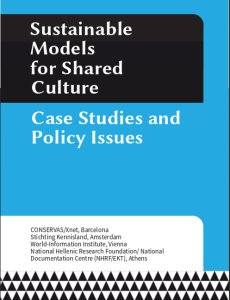 Sustainable Models for Shared Culture