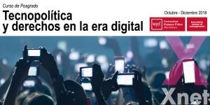 Tecnopolítica y Derechos en la Era Digital – Curso de Posgrado BSM-UPF dirigido por Simona Levi