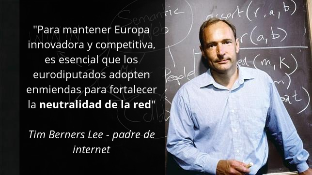 Tim Berners Lee - Save the Internet