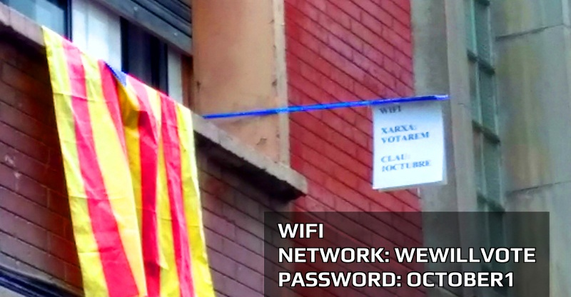 Represión y resistencia digitales en el #CatalanReferendum