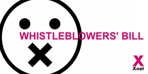 Xnet registers in the Spanish Parliament the first transposition of the Whistleblowers' Directive