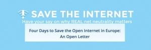 (Es) Xnet apoya la carta abierta de #SavetheInternet: 4 días para salvar Internet en Europa