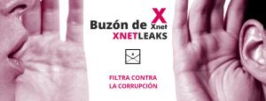 Bústia d'Xnet per denunciar casos de corrupció