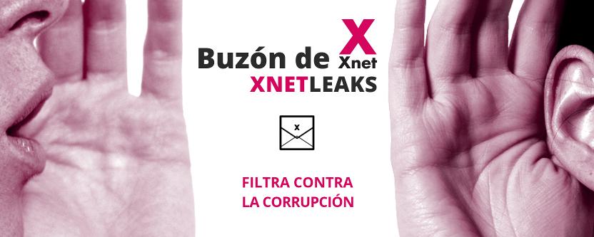 Buzón de Xnet para denunciar casos de corrupción - XnetLeaks