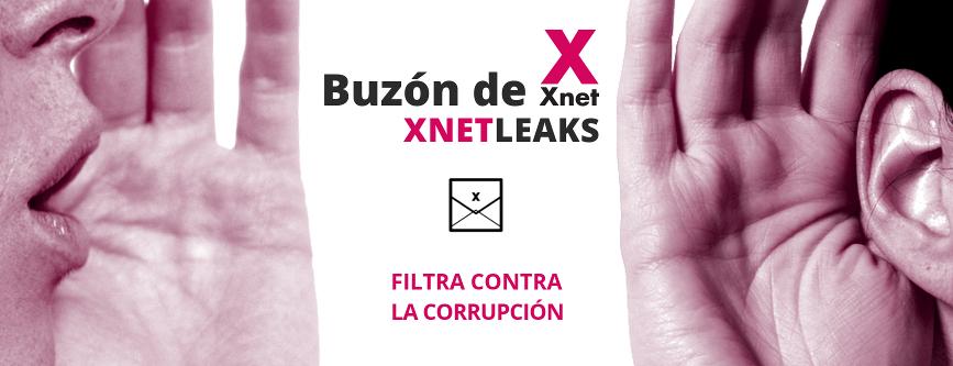 Buzón de Xnet. Buzón anónimo para denunciar casos de corrupción - XnetLeaks